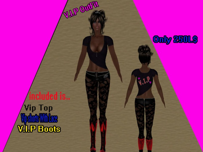 V.I.P OUTFIT *BOXED*