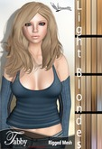 *~*Damselfly*~*Tabby Rigged-Mesh Light Blondes