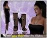 **SD** -Ljsa ( Mesh Outfit) -High Heels Shoes - Black Version
