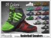 [Phunk] Mesh Unisex Basketball Sneakers (18 Colors)