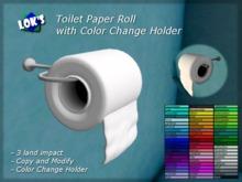 Lok's Toilet Paper Roll (Color Change)