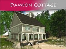 MOCO Emporium ~ Damson Cottage [Part Mesh] Plus Accessories Pack ~ Low Land Impact = 97