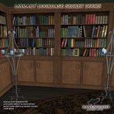 Ravenghost LIbrary Book Shelf Set 1 (Walnut)