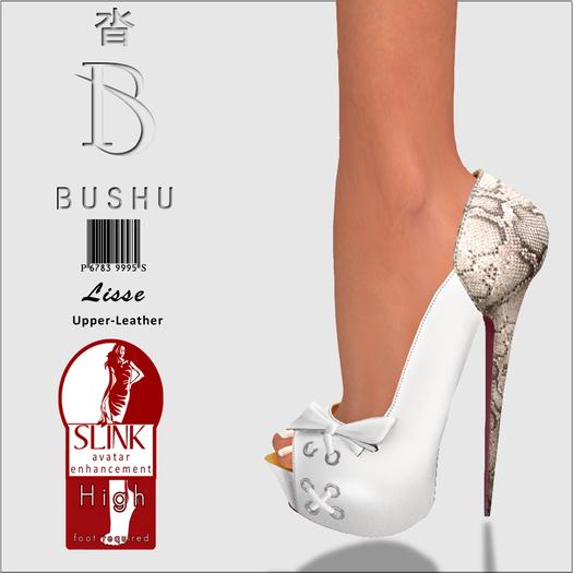 Bushu Lisse White