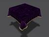 Violet Velvet Tablecloth