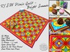 R(S)W Picnic Quilt - Bright Summer