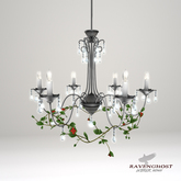 Ravenghost Interior's Midsummer Night's Chandelier (Silver)