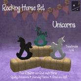 ~Sleepy Moon~ Rocking Horse Unicorn(bagged)