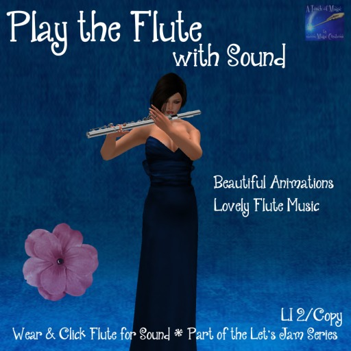 Play the Flute with Sound Lets Jam Series(bagged)