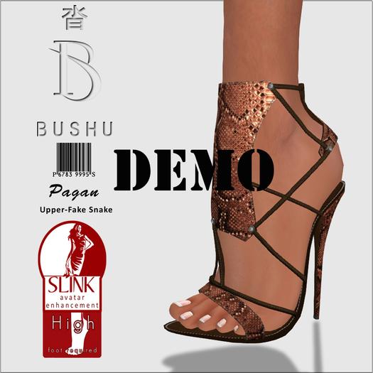 Bushu Pagan Sandals Demo