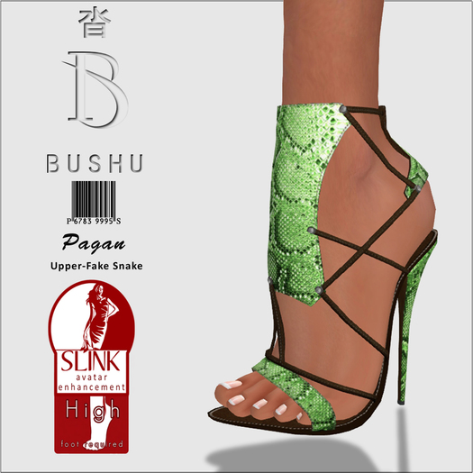 Bushu Pagan Sandals Ice Mint