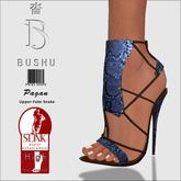 Bushu Pagan Sandals Blue