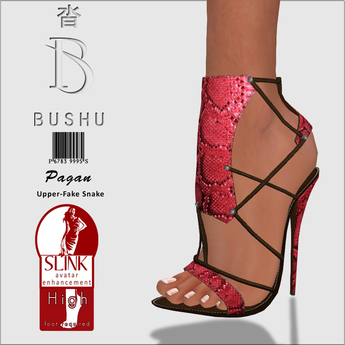 Bushu Pagan Sandals Garnet