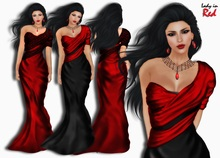 Lady in Red - Liliya (red) - Formal elegant dress