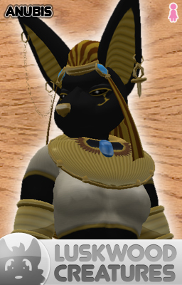 Luskwood Mythical Anubis Avatar - Female