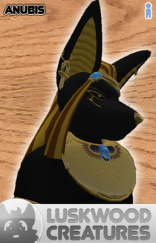 Luskwood Mythical Anubis Avatar - Male