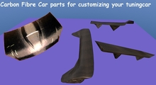 Carbon fibre car parts - full perm - tuning - racing - car stuf