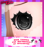 -CandyCutie- Hime Lashes (For M3/Kemono use only)