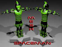 SPACEMAN-GREEN