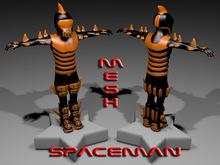 SPACEMAN-ORANGE
