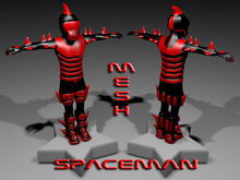 SPACEMAN-RED