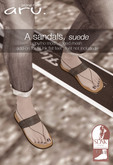 aru. A sandals *fatpack* *add*
