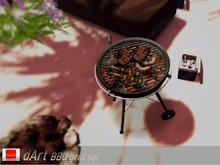 .:dArt:. BBQ Grill - LOWPRIM - (Cooler and Campfire gift)