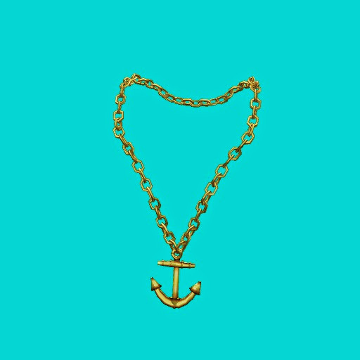 Pirate Anchor Necklace (3 prims)