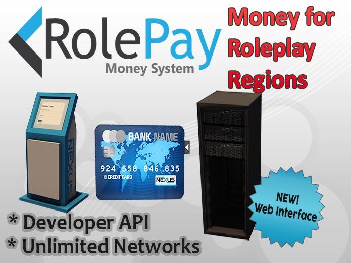 RolePay Money System v2 Complete Pack