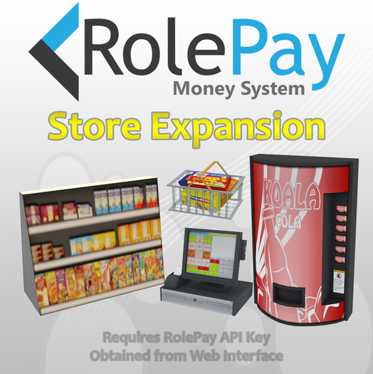 RolePay Money System Store Expansion Pack