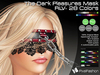 :)(: The Dark Pleasures Mask - RLV - All colors ( Open Collar )