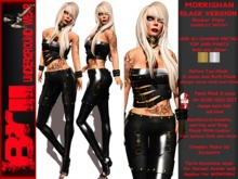 **MORRIGHAN BLACK VERSION ROCKER STYLE COMPLET OUTFIT** Brii **