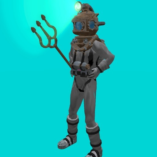 Animated Nemo Diving Suit (open for contents)