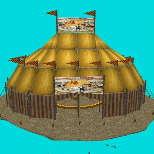 Circus Tent (16 prims)