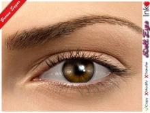 *Inkheart * - Doll Eyes - Brown Sugar