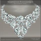 Symphonie Fantastique Necklace WG/D by CZ Chop Zuey Couture Jewelley
