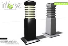 inVerse® MESH Outdoor lamp #2  FULL PERM