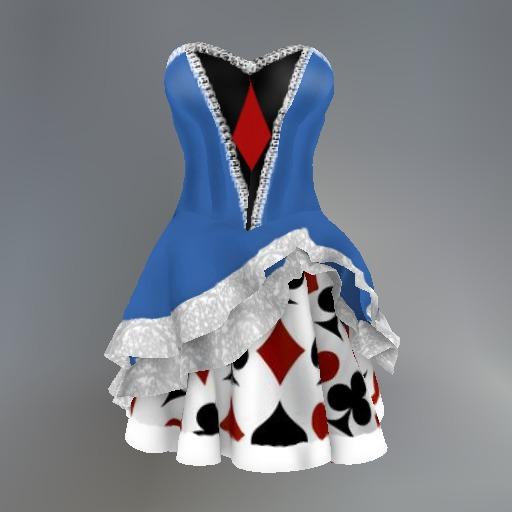 Alice Wonderland Mesh Dress