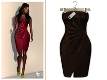 Bens Boutique - Erica Cocktail Dress Brown