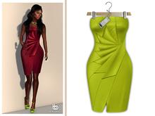 Bens Boutique - Erica Cocktail Dress Lime