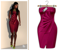Bens Boutique - Erica Cocktail Dress Magenta