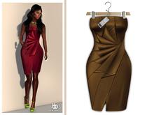 Bens Boutique - Erica Cocktail Dress Bronze