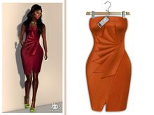 Bens Boutique - Erica Cocktail Dress Orange