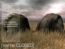 [we're CLOSED] Great rocks of Dingo