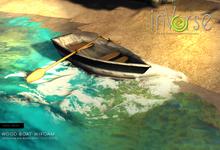 inVerse® MESH - Wood boat w/foam