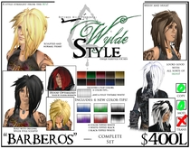 - Barberos - A Wylde Style by Khyle Sion at ~Refined Wild~