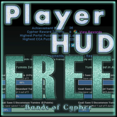 Bands of Cypher Achievement Tracker HUD ~ Play the Game Today!