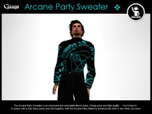 Gaagii - Arcane Party Sweater (Unisex Outfit)