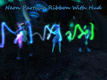 .:CD:. Neon Particle Ribbon With Hud