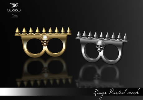 ^^Swallow^^ Ring Studs GIFT